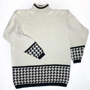 Vintage 80's GAP 100% Cotton Herringbone Sweater